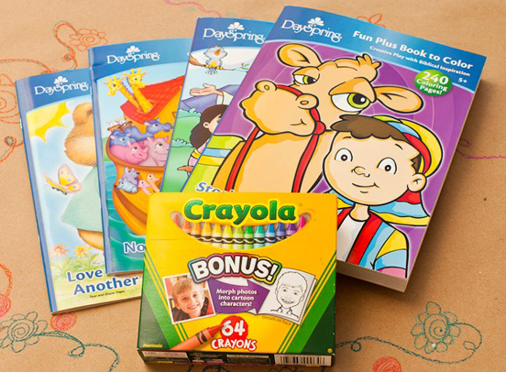 Coloring Books And Crayons For S Coloring Pages